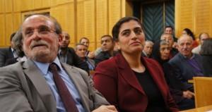 HDP Eşbaşkanları Kürkçü ve Tuncel, grup toplantısı öncesinde
