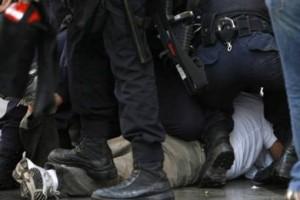 Hatay Erzin'de Polis Şiddeti