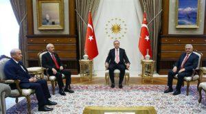 Kılıçdaroğlu ve Bahçeli Saray'da Erdoğan ve Yıldırım'la