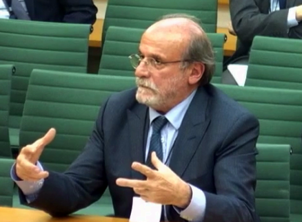 Ertuğrul Kürkçü Britanya Parlamentosu Avam Kamarası Dışişleri Komisyonu'nda soruları yanıtlıyor